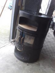 Holzkohle Ofen