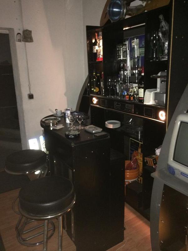suche bar für wohnzimmer: – Home Bar Theke Barhocker Tisch Club VIP Wohnzimmer Hobbyraum
