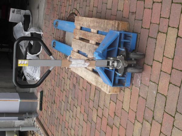 hubwagen 2500mm pfaff silberblau in leidersbach alles m gliche kaufen und verkaufen ber. Black Bedroom Furniture Sets. Home Design Ideas