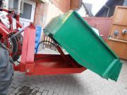 hydraulischer heckcontainer traktor