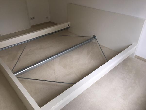 Ikea Flaxa Bed Frame With Headboard ~ ikea bett weis 180×200 in groshesselohe