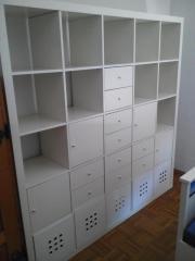 kallax regal weiss haushalt m bel gebraucht und neu kaufen. Black Bedroom Furniture Sets. Home Design Ideas