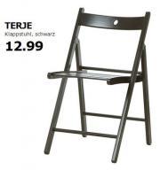 IKEA Klappstuhl schwarz *