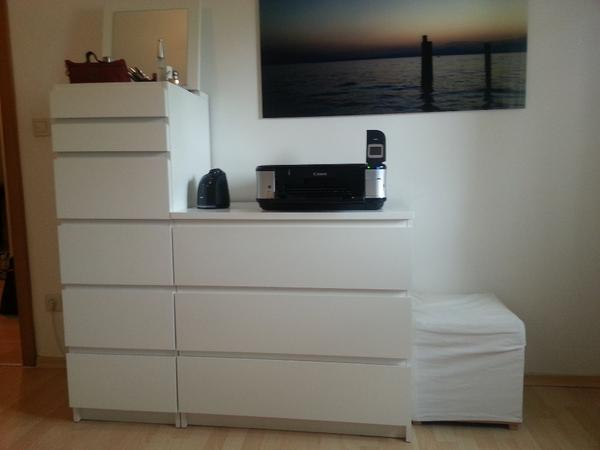 ikea kommode in wei in regensburg schr nke sonstige. Black Bedroom Furniture Sets. Home Design Ideas