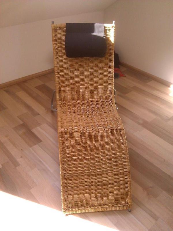 ikea liege aus ratan in oftersheim ikea m bel kaufen und verkaufen ber private kleinanzeigen. Black Bedroom Furniture Sets. Home Design Ideas