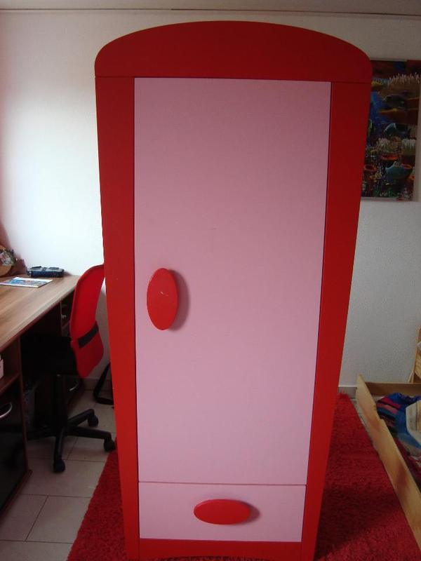 ikea mammut schrank rosa rot m dchen kinder in leutershausen kinder jugendzimmer kaufen. Black Bedroom Furniture Sets. Home Design Ideas