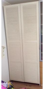 pax schrank ikea weiss 150x66x201 in m nchen ikea m bel kaufen und verkaufen ber private. Black Bedroom Furniture Sets. Home Design Ideas