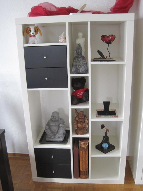 schwarze regal neu und gebraucht kaufen bei. Black Bedroom Furniture Sets. Home Design Ideas
