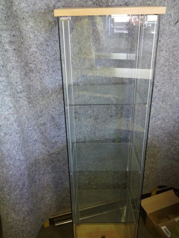 ikea vitrine glasvitrine in stuttgart ikea m bel kaufen und verkaufen ber private kleinanzeigen. Black Bedroom Furniture Sets. Home Design Ideas