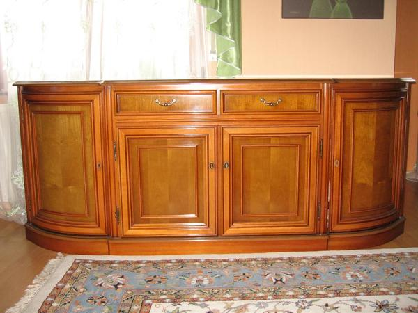 italienische stilm bel sideboard echt kirschbaum. Black Bedroom Furniture Sets. Home Design Ideas