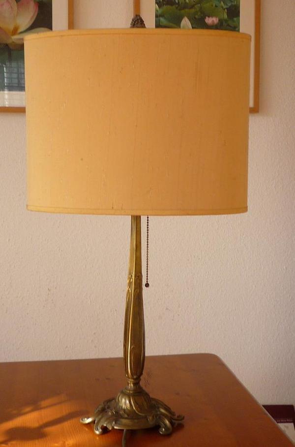 jugendstil tisch lampe. Black Bedroom Furniture Sets. Home Design Ideas