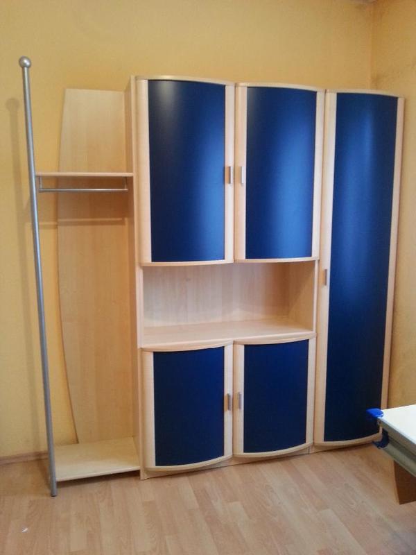 Jugendzimmer schrank mit garderobe in altrip kinder for Jugendzimmer schrank