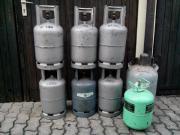 Kältemittelflaschen Gasflaschen Druckbehälter