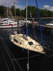 Kajütsegelboot