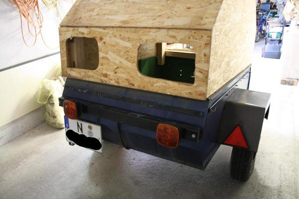 kfz anh nger 400kg werbeanh nger in n rnberg anh nger auflieger kaufen und verkaufen ber. Black Bedroom Furniture Sets. Home Design Ideas