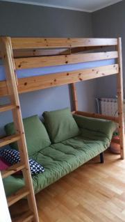 hochbett sofa haushalt m bel gebraucht und neu. Black Bedroom Furniture Sets. Home Design Ideas