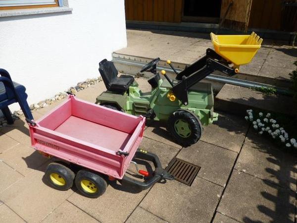 kinder traktor anh nger. Black Bedroom Furniture Sets. Home Design Ideas