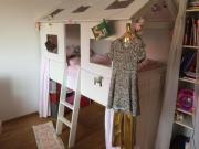 Kinderhochbett, Abenteuerbett, Prinzessin-