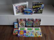 Kinderspiele und Puzzle