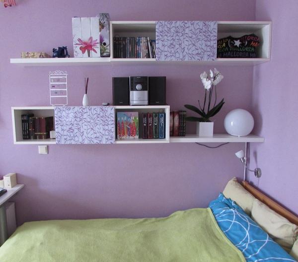 Klappbett, Kleiderschrank und Schreibtisch in einem   Modell 954