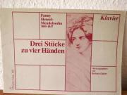Klaviernoten-Fanny Hensel-