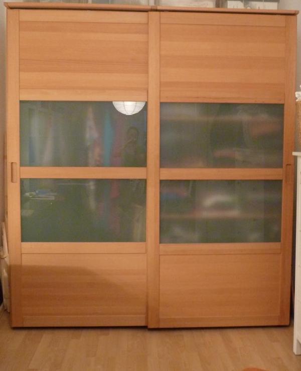 Aktenschrank Holz Gebraucht ~ Kleiderschrank, Buche Vollholz