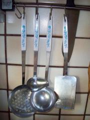 Kochbesteck, Küchenutensilien 4er
