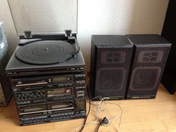 kompaktanlage mit kassette radio kassette kaufen gebraucht und g nstig dual mp 301 mini stereo. Black Bedroom Furniture Sets. Home Design Ideas