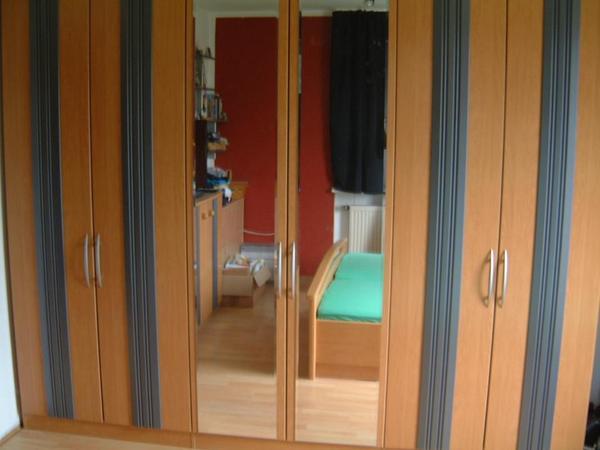 komplettes schlafzimmer buche massivholz in oberasbach. Black Bedroom Furniture Sets. Home Design Ideas