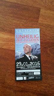 Konzertkarten Unheilig Stuttgart