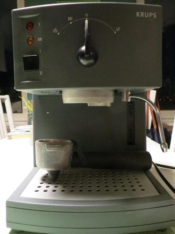 krups 962 espressomaschine mit siebtr ger in mannheim kaffee espressomaschinen kaufen und. Black Bedroom Furniture Sets. Home Design Ideas