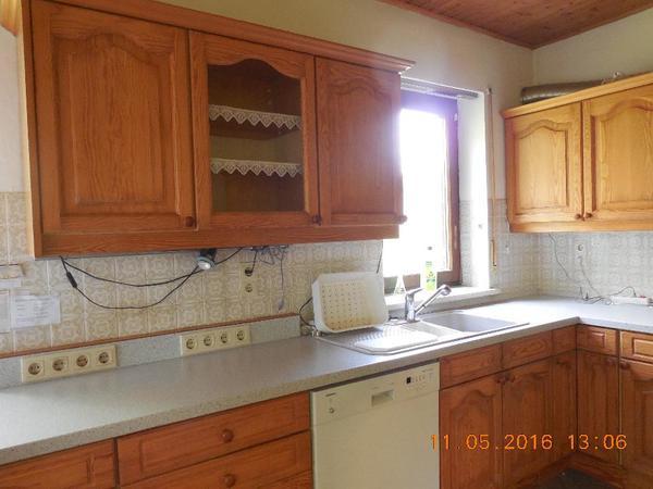 Küche mit Holzfronten, Schreinerküche in Glonn - Küchenzeilen ...