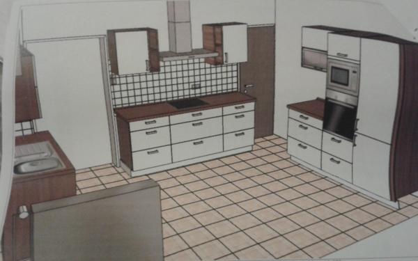 top zustand erst 14 monate alt ein traumhaft sch ne k che von der wir uns wegen umzug trennen. Black Bedroom Furniture Sets. Home Design Ideas