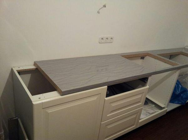 Kuchen arbeitsplatte 280 cm lang 60 cm tief 38 cm hoch for Arbeitsplatte 40 cm