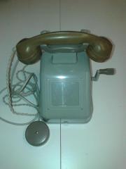 Kurbeltelefon Tischfernsprecher OB