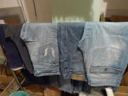 Kurzmantel, Jacket, Jeans,