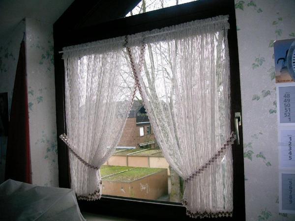 landhausgardine scheibenstore in k ln gardinen jalousien kaufen und verkaufen ber private. Black Bedroom Furniture Sets. Home Design Ideas