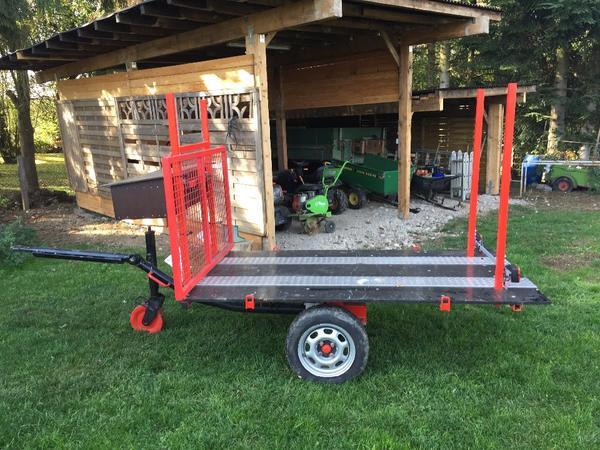 landwirtschaftlicher anh nger f r meterholz in kirchheim traktoren landwirtschaftliche. Black Bedroom Furniture Sets. Home Design Ideas
