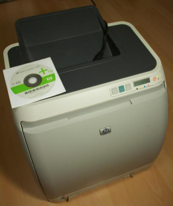 hp color laserjet 1600 kaufen gebraucht und g nstig. Black Bedroom Furniture Sets. Home Design Ideas