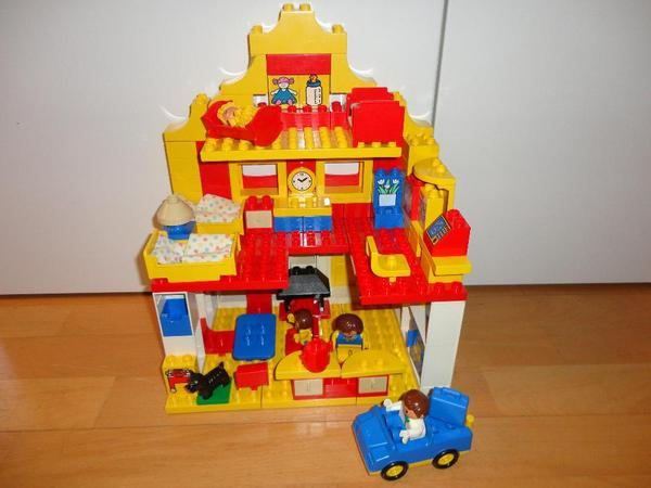 Lego Duplo Haus Wohnhaus Familienhaus Einrichtung in