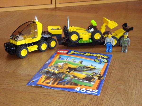 lego jack stone 4622 inkl anleitung in gr nwald spielzeug lego playmobil kaufen und. Black Bedroom Furniture Sets. Home Design Ideas