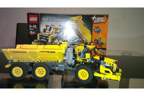 bild 6 spielzeug lego playmobil lego technic 8264. Black Bedroom Furniture Sets. Home Design Ideas