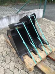 Löffel für Minibagger -