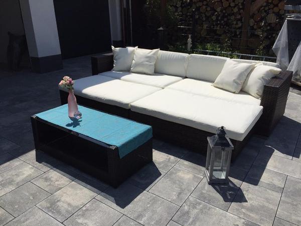 loungem bel loungebett loungesofa polyrattan gartenm bel hochwertig top in braunschweig. Black Bedroom Furniture Sets. Home Design Ideas