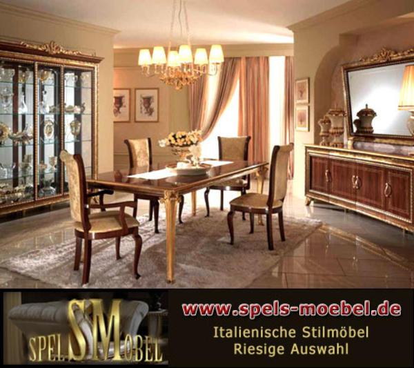 luxus m bel komplett wohnzimmer giotto canaletto nussbaum gold italienische klassische stilm bel. Black Bedroom Furniture Sets. Home Design Ideas