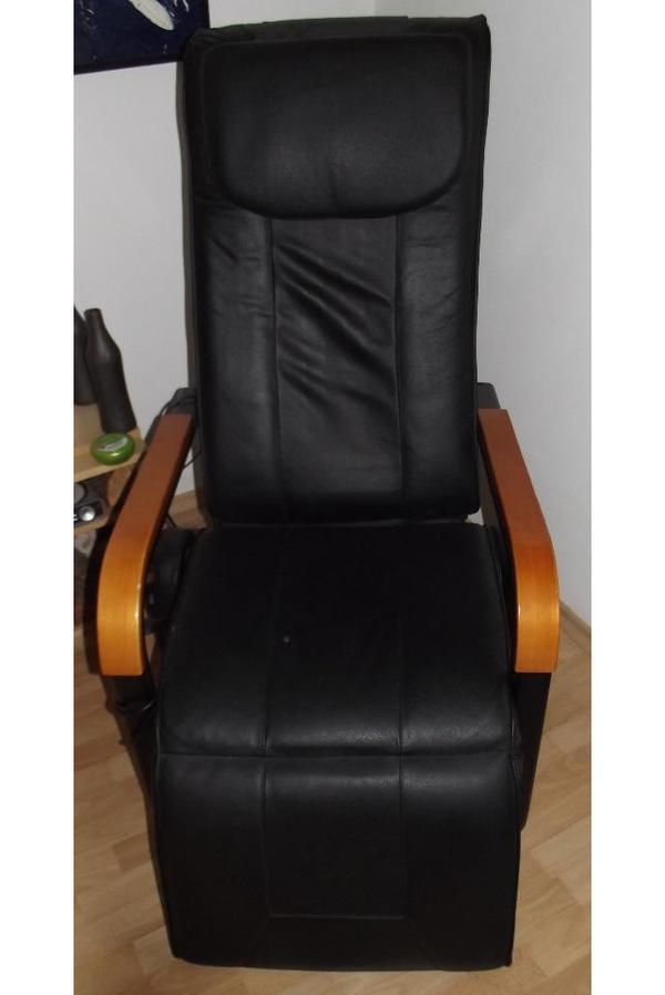 massagesessel mit heizung vibration und rollen in. Black Bedroom Furniture Sets. Home Design Ideas