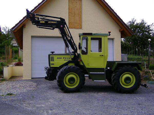 mb trac 1100 top zustand in sulzfeld traktoren. Black Bedroom Furniture Sets. Home Design Ideas