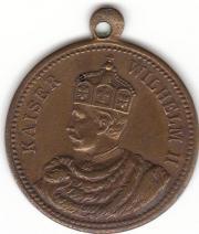 Medaille Kaiser Wilhelm