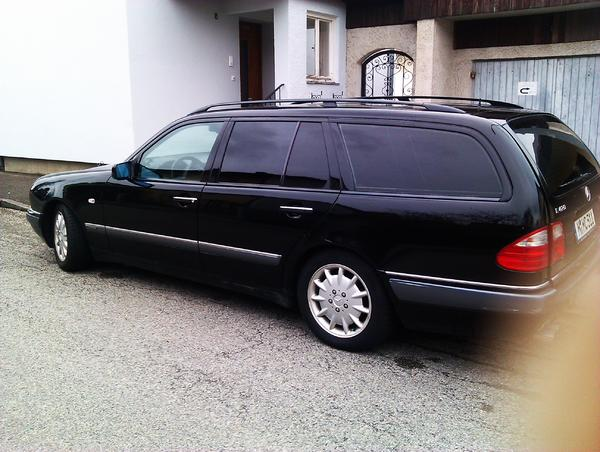 mercedes benz e420 kombi bj 97 automatik 167000km in. Black Bedroom Furniture Sets. Home Design Ideas