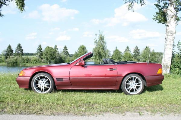 mercedes benz sl 500 r129 automatik v8 in wadersloh mercedes cabrio roadster kaufen und. Black Bedroom Furniture Sets. Home Design Ideas